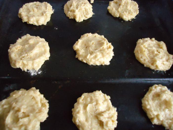 рецепт овсяных печений с медом фото