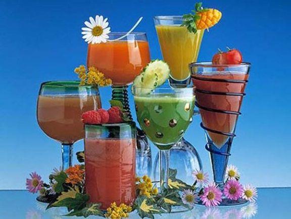 лечебные коктейли из растительных соков