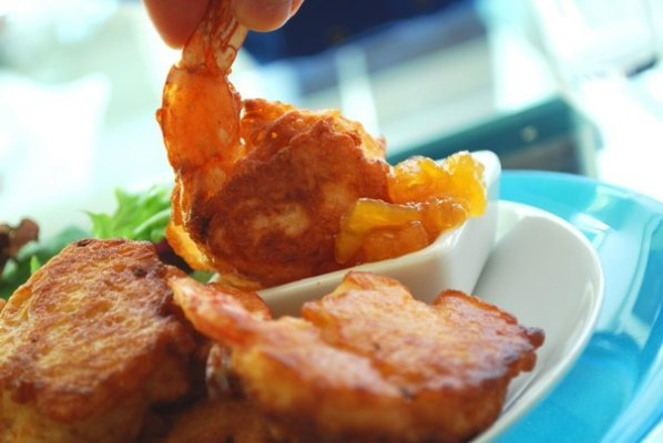 Жареные креветки в пивном кляре по оригинальному рецепту