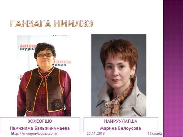 """Намжилма Бальжинимаева, автор сайта Мунгэ Тобшо 3В и продюсер Марина Белоусова, руководитель программы """"Ваш первый сайт на WordPress"""""""