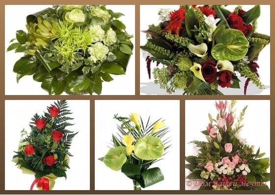 Букет цветов для мужчины фото