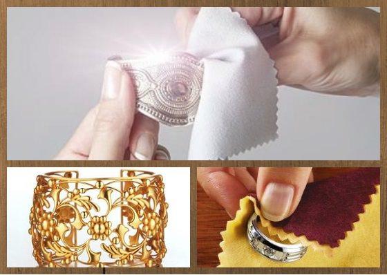 чистка ювелирных украшений