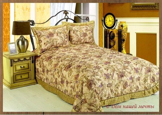 гобелен в интерьере спальни