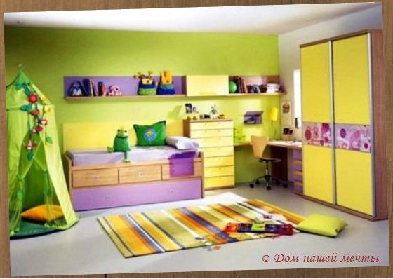 О том, как сделать ремонт детской комнаты
