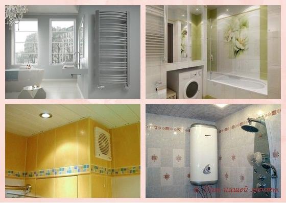 ремонт малогабаритной ванной комнаты