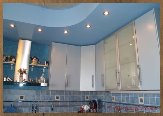 отделка потолка гипсокартонными плитами