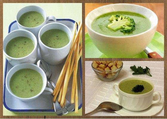 суп пюре с брокколи