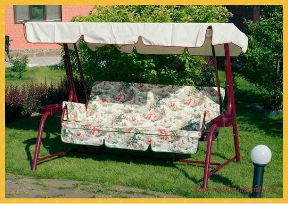 Дачный сезон: как выбрать садовые качели