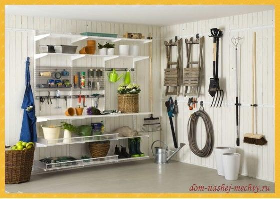 Дачный сезон: правильное хранение садовых инструментов