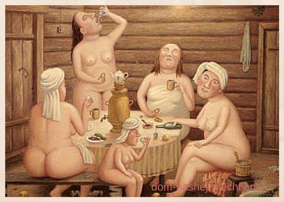 польза бани для женщины