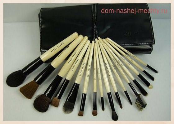 инструменты для макияжа фото