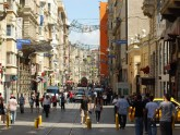 Улица Истикляль в Стамбуле, Турция