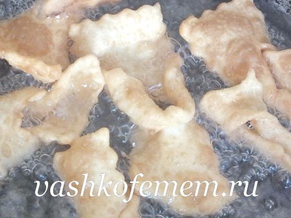 Хворост рецепт с фото пошагово