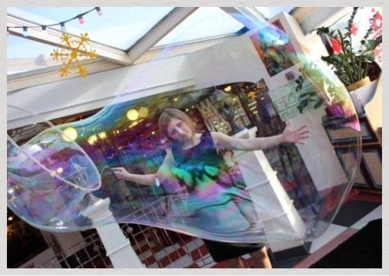 гигантские мыльные пузыри своими руками