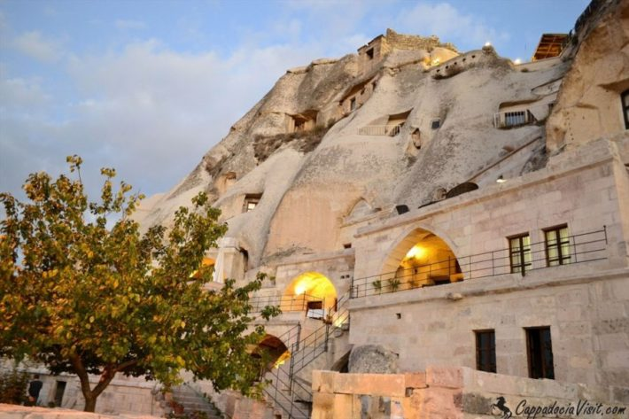 Пещерные отели Каппадокии в Турции