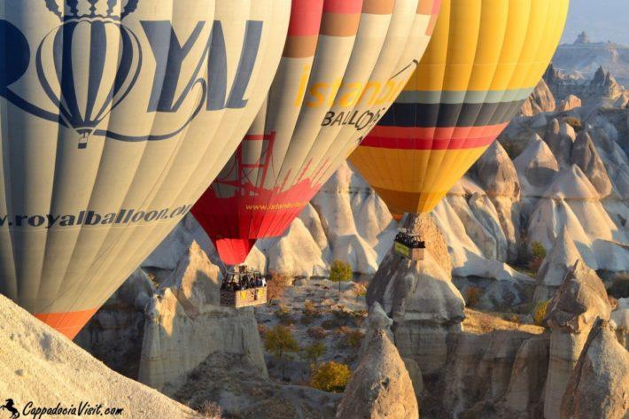 Полет на воздушном шаре над Каппадокией