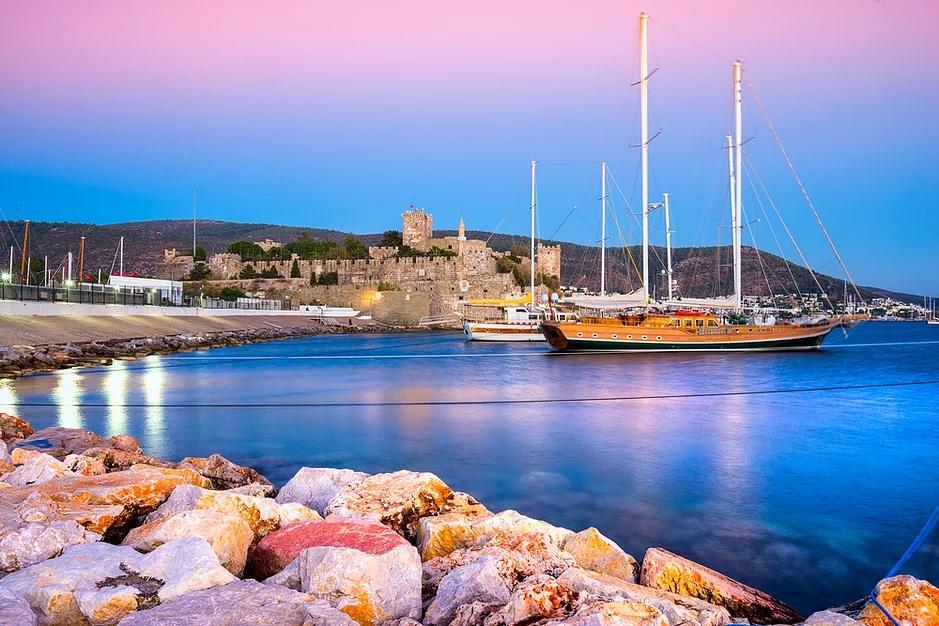 Морской туризм в Турции