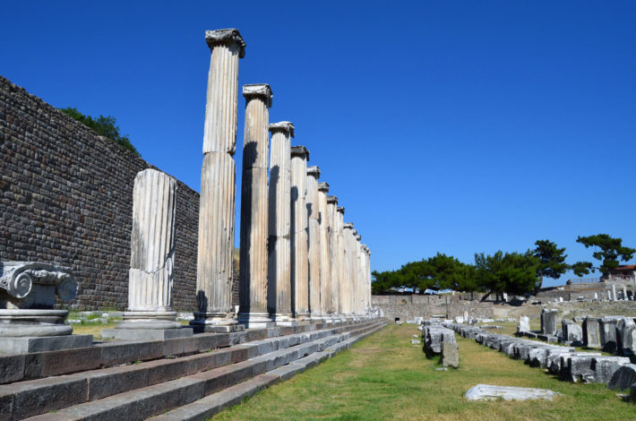 храм Асклепион, Турция