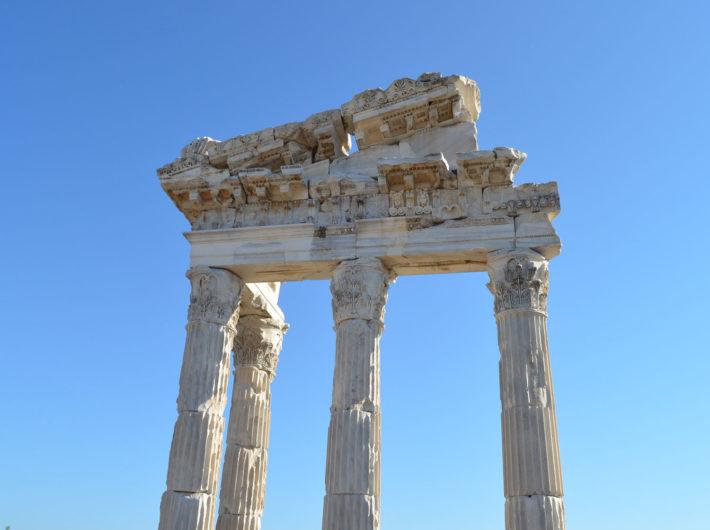 Акрополь и алтарь Зевса (Пергам Турция)