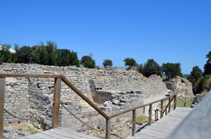 Развалины древней Трои находятся в Турции