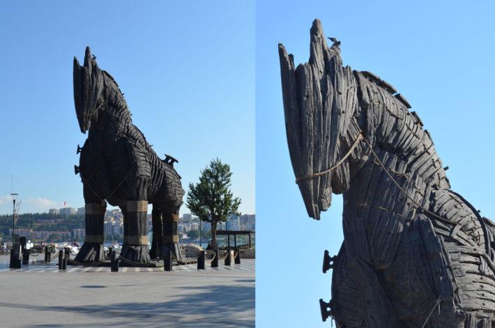 Троянский конь в Чанакале