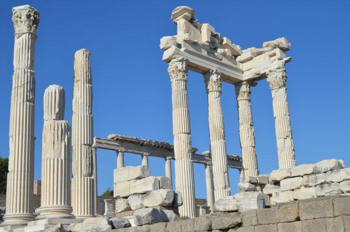 Акрополь. Пергам Турция