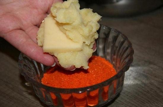 как приготовить зразы с грибами на сковороде