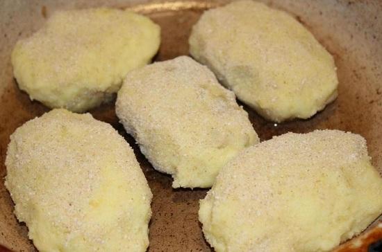 как приготовить постные картофельные зразы