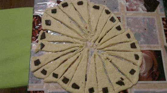 рецепт приготовления круассанов
