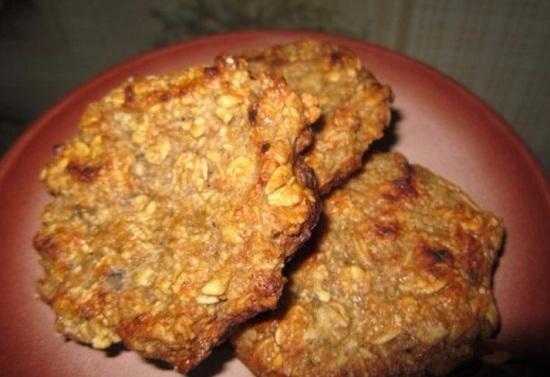Овсяное печенье с бананом диетическое: рецепты приготовления с творогом и изюмом