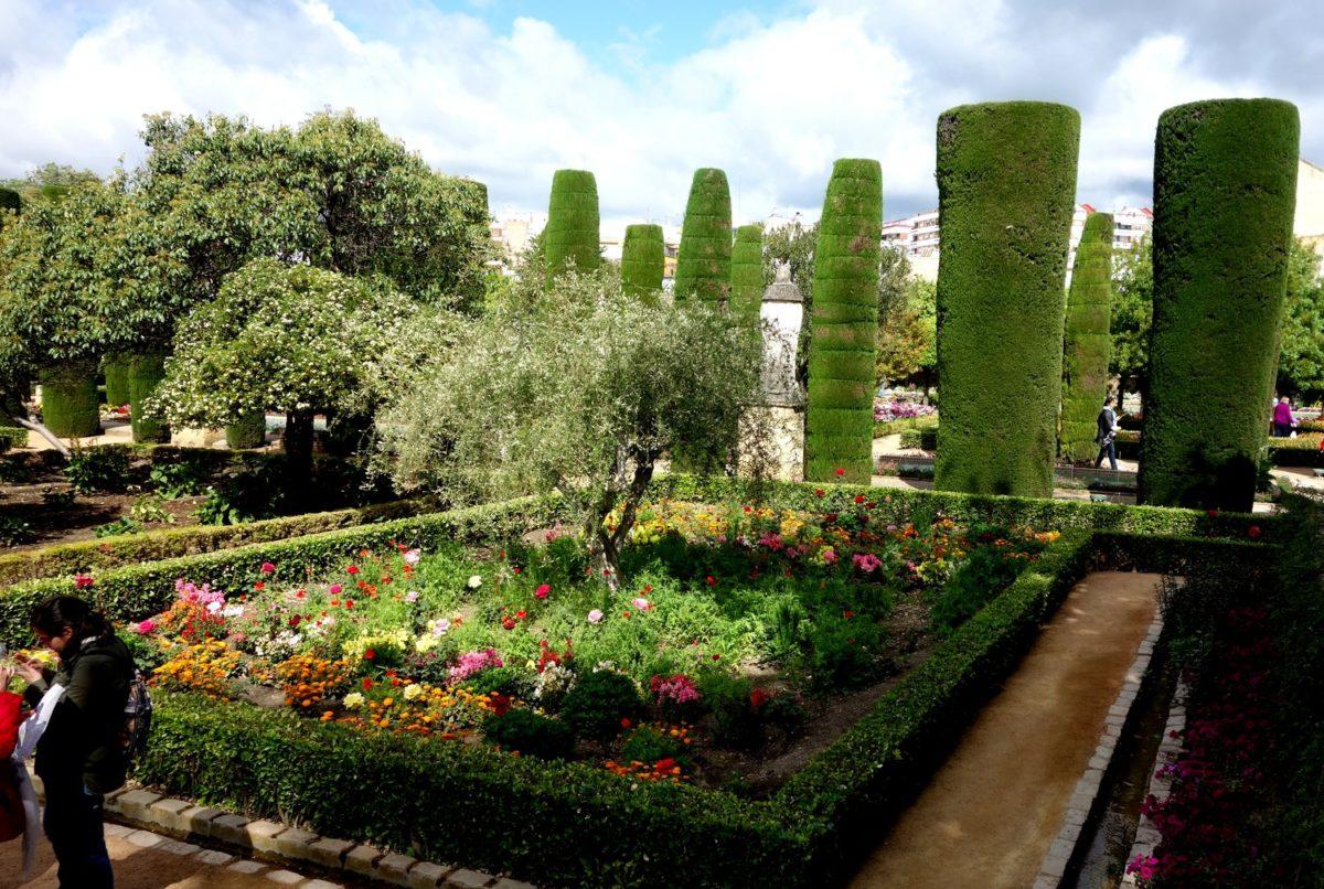 Сады Алькасара в Кордове